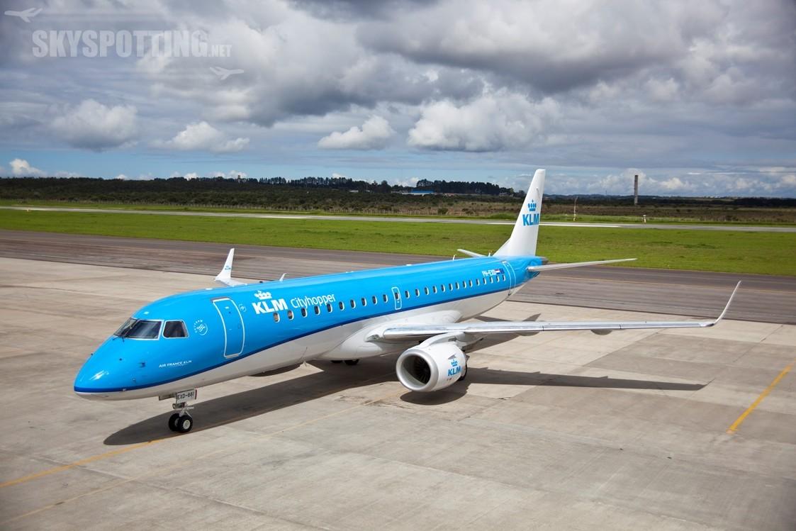 KLM Embraer m