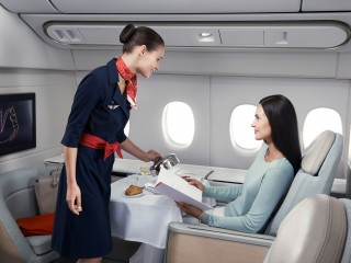 Obsluga pasazerska Klasa Pierwsza Air France