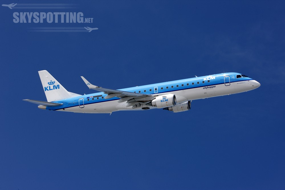 samolot KLM w locie (2)