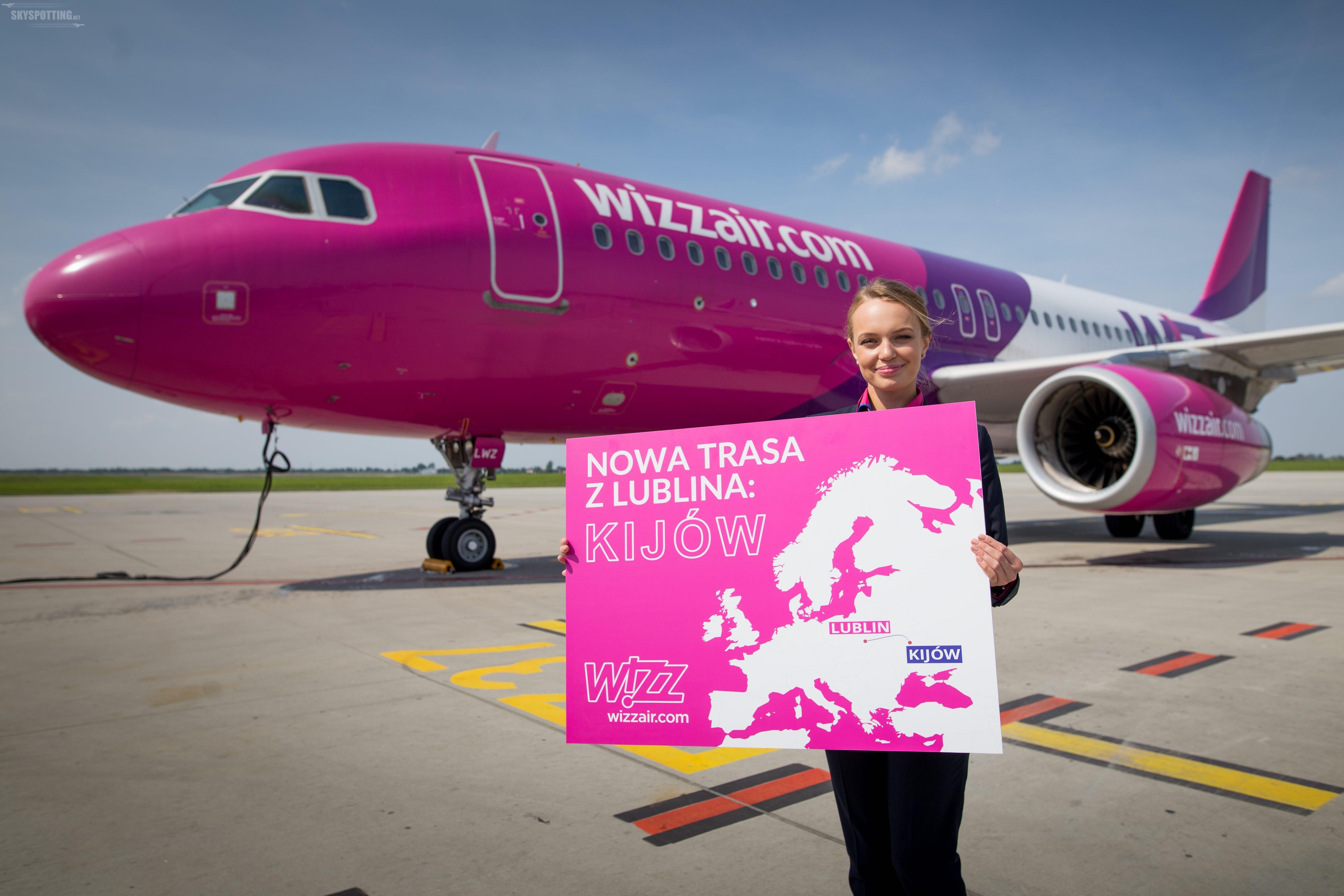 Wizz Air rozpoczyna operacja na dwóch trasach z Polski do Kijowa