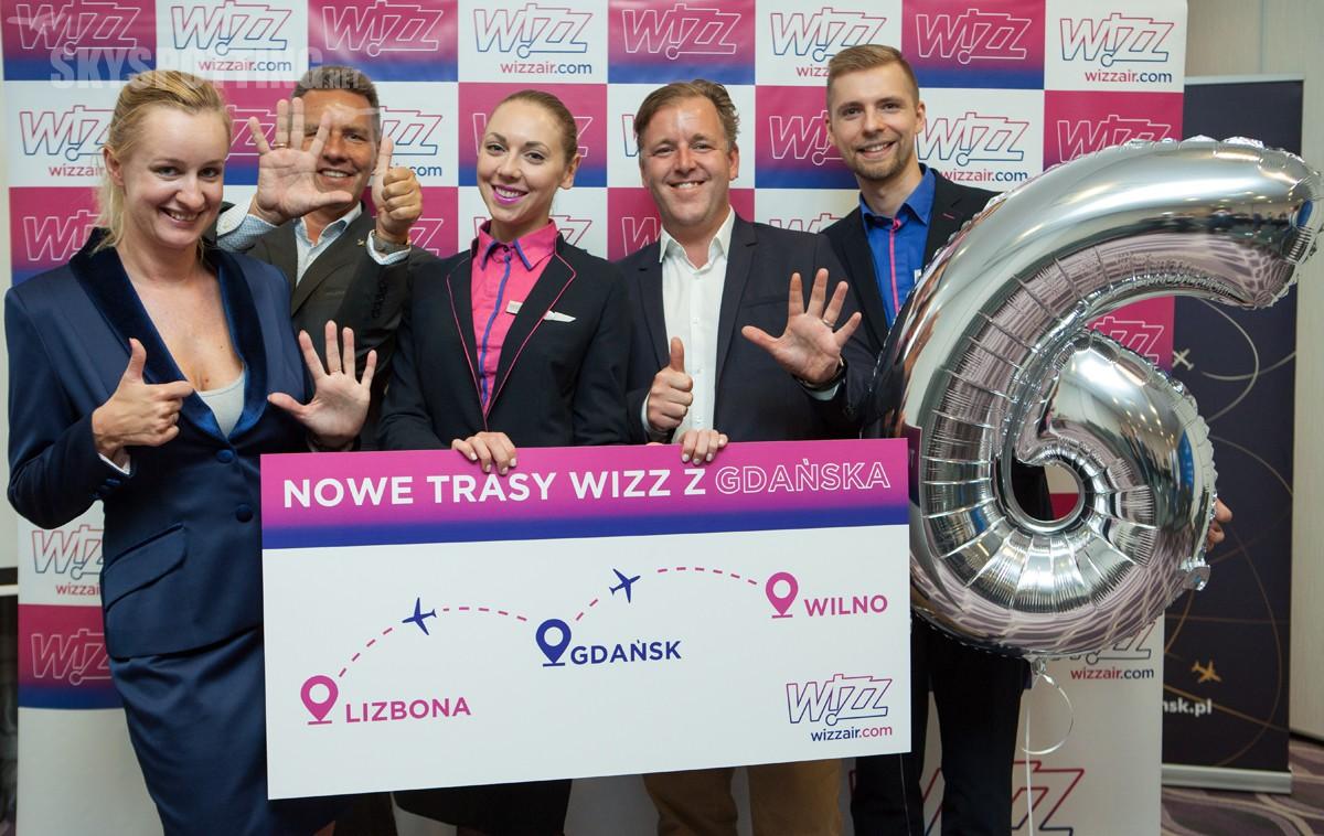Wizz Air rozwija się w Gdańsku