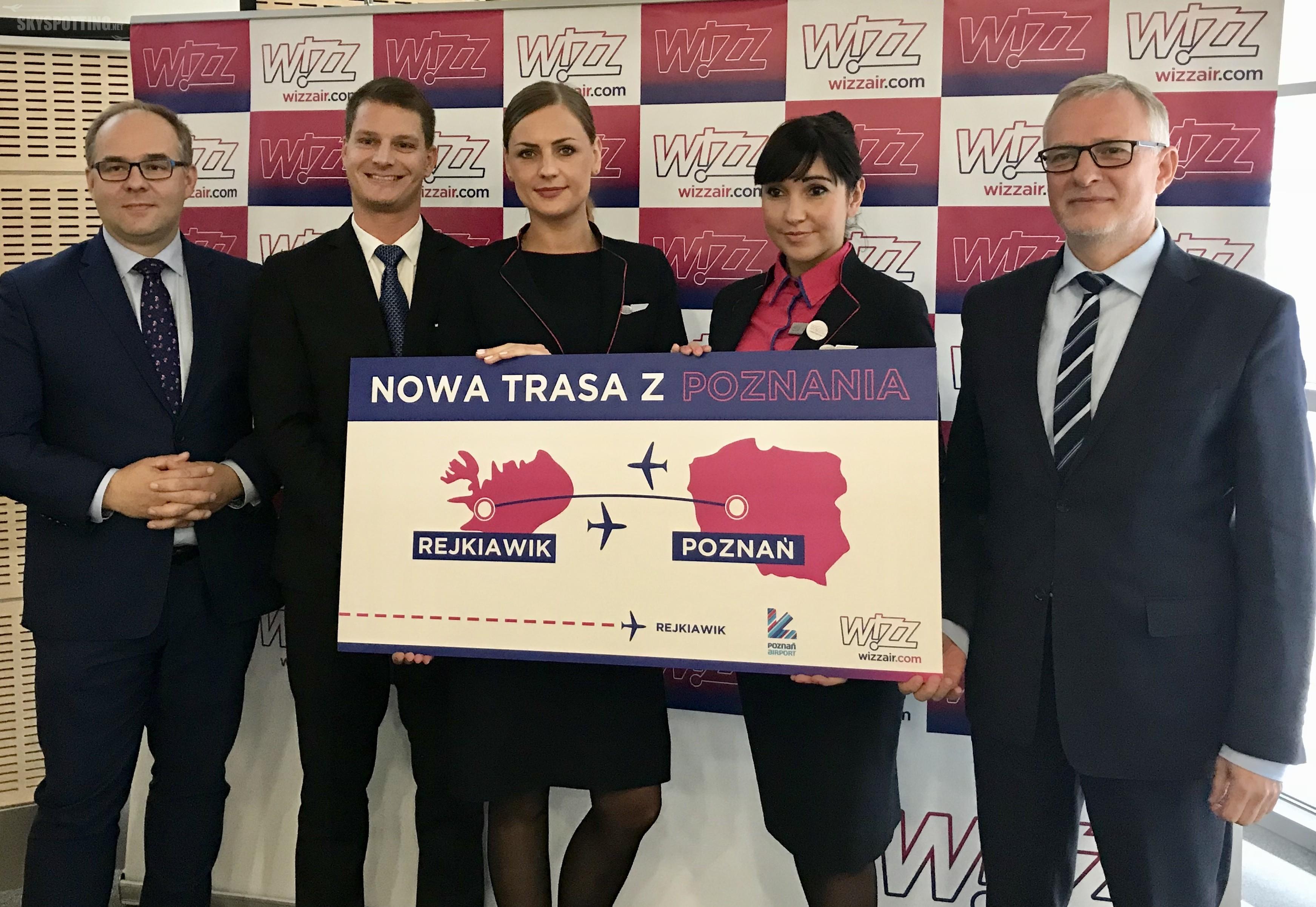 Wizz Air ogłasza loty z Poznania do Islandii