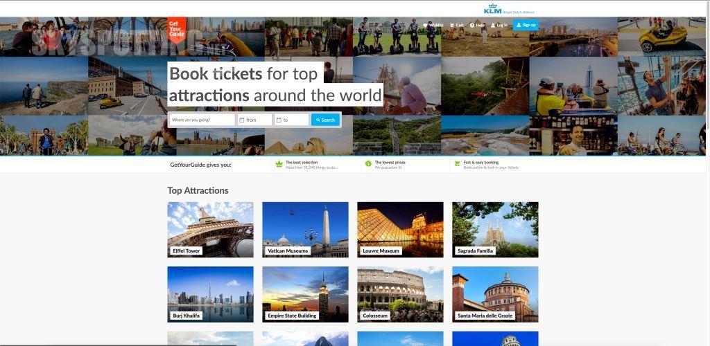 KLM zaprasza na wycieczkę wspólnie z GetYourGuide