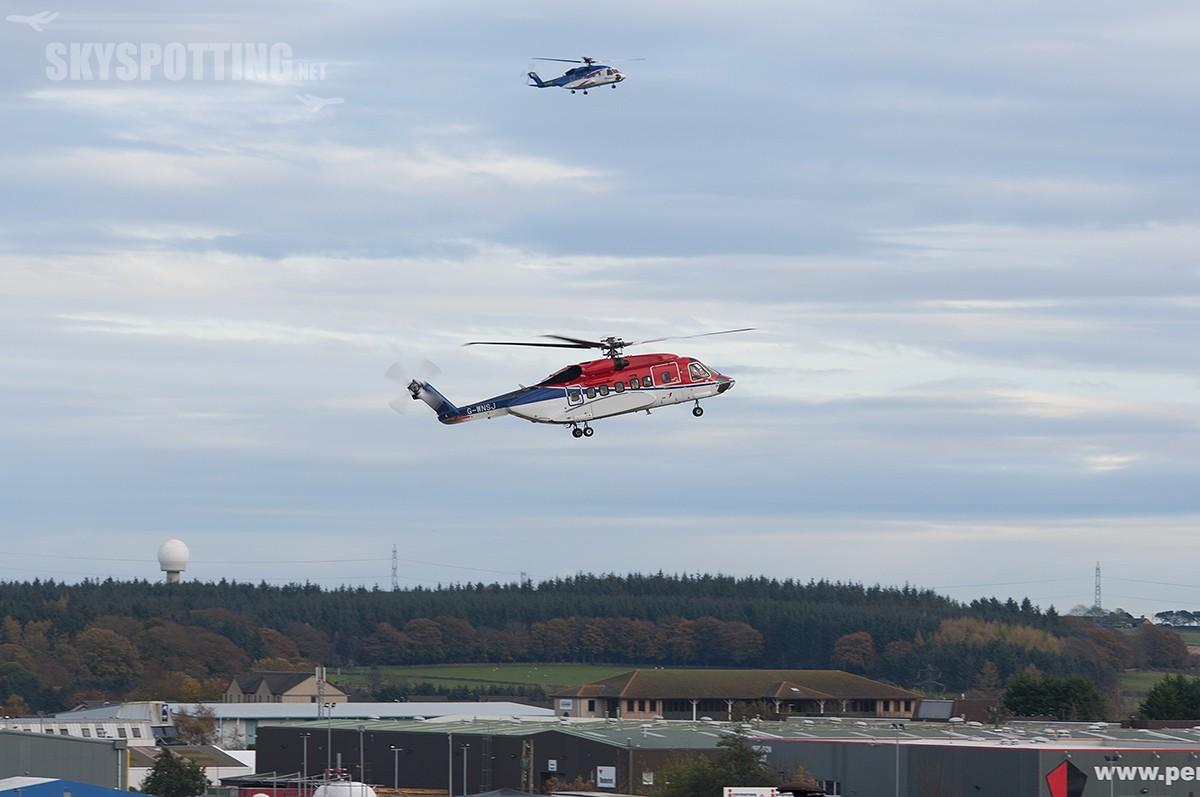Aberdeen International Airport – planespotting