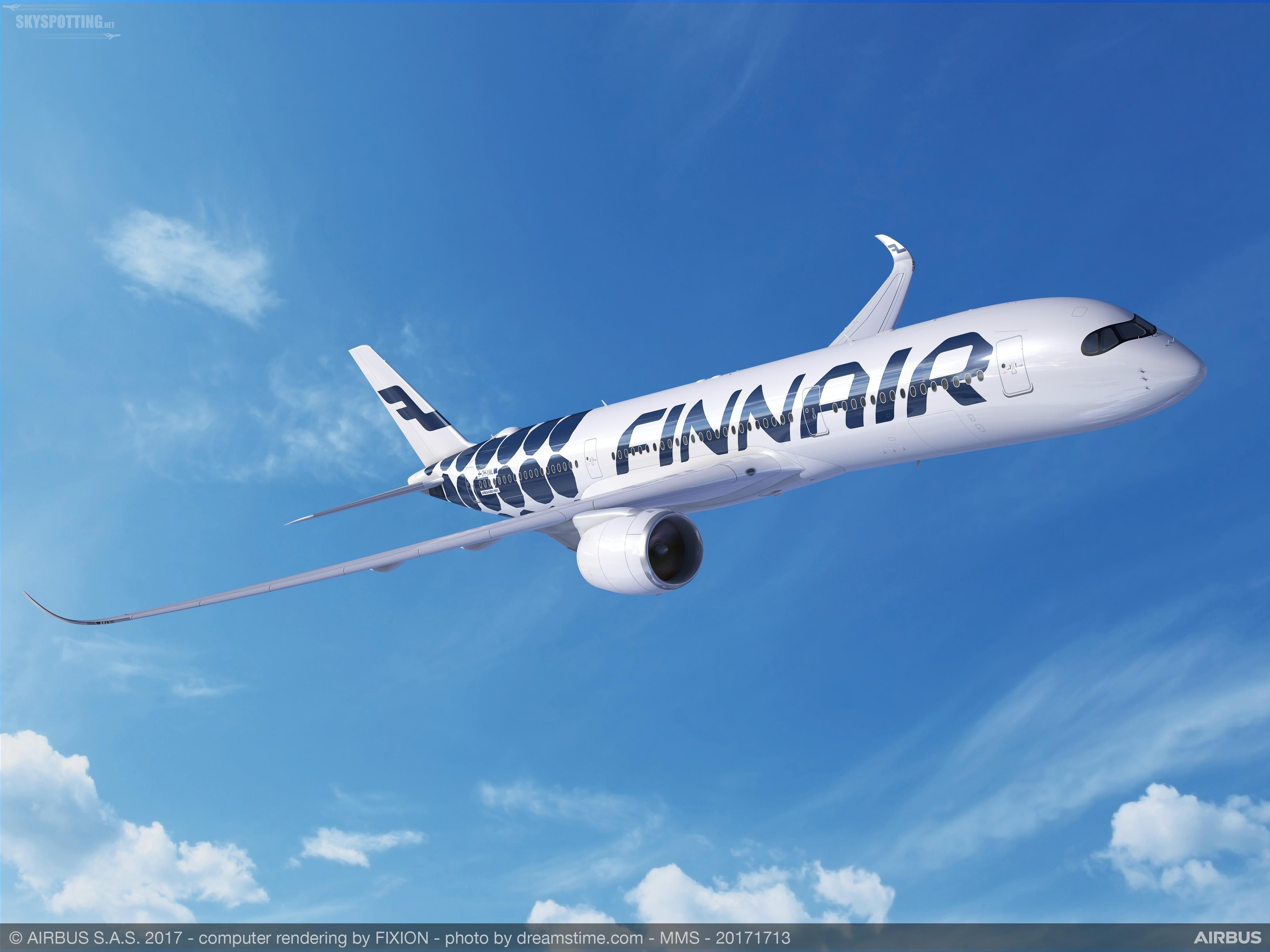 Finnair poleci A350 na nowej trasie do Los Angeles w 2019 roku