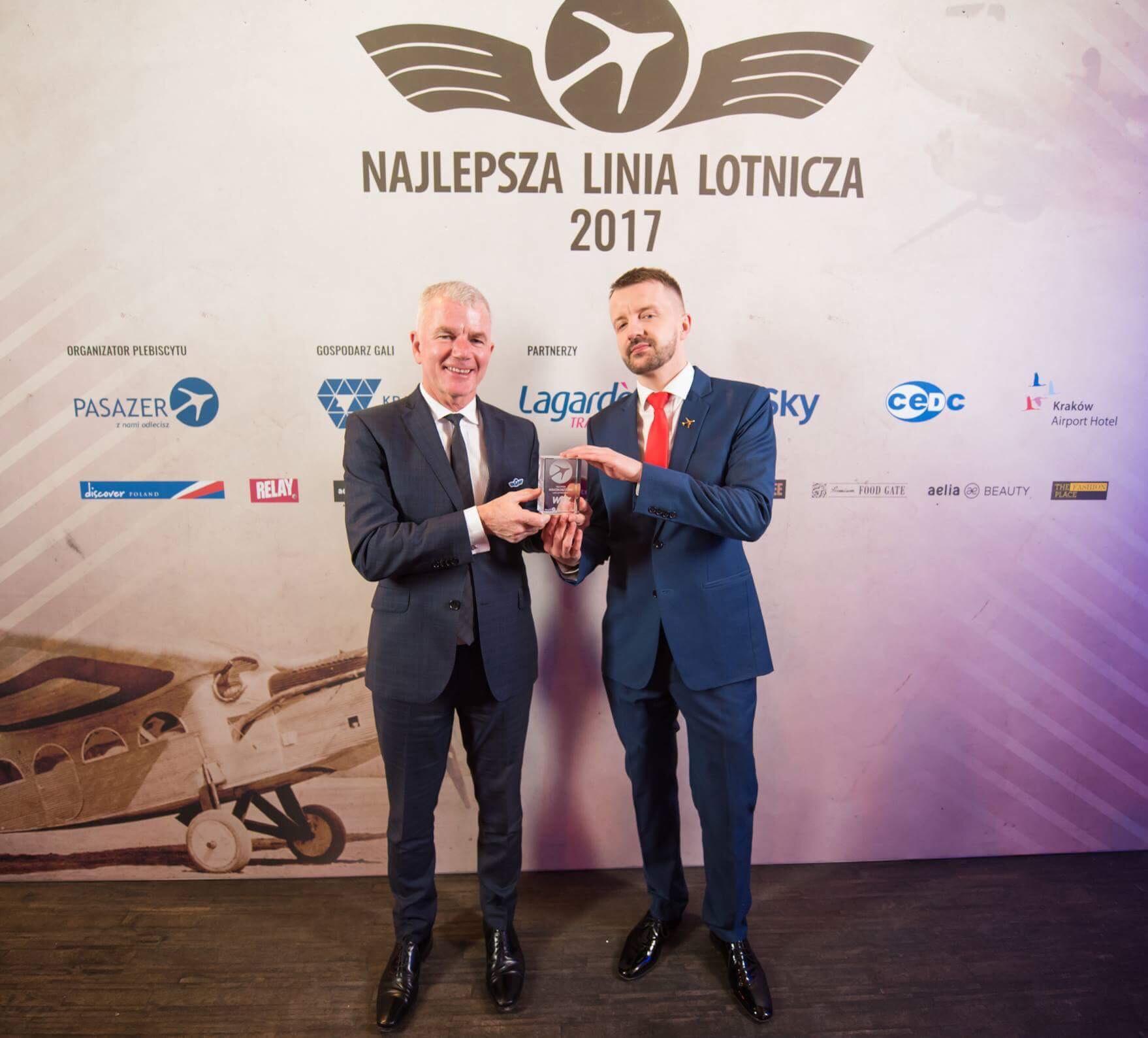 Wizz Air najlepszą niskokosztową linią lotniczą w Polsce
