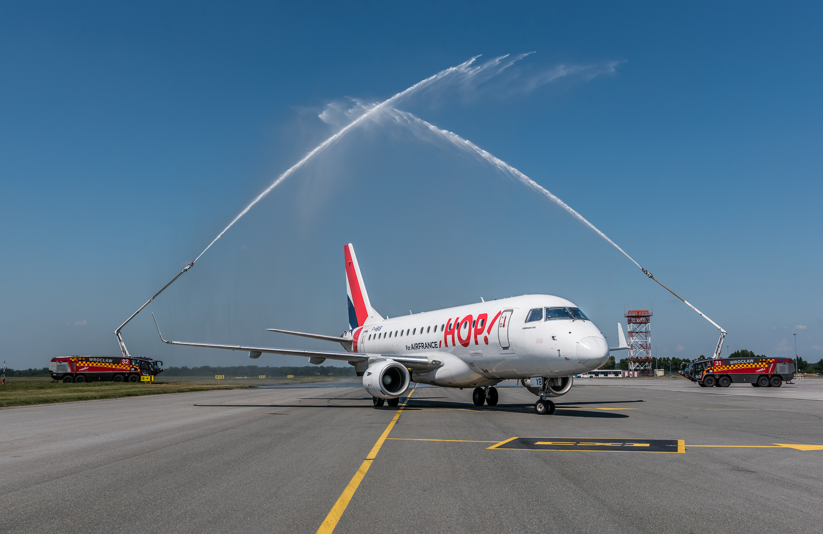 Air France wylądował we Wrocławiu
