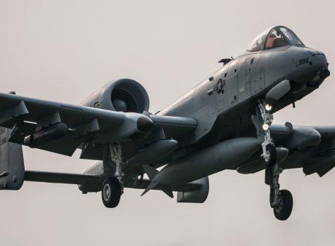 A-10 Thunderbolt II – wizyta w RAF Mildenhall