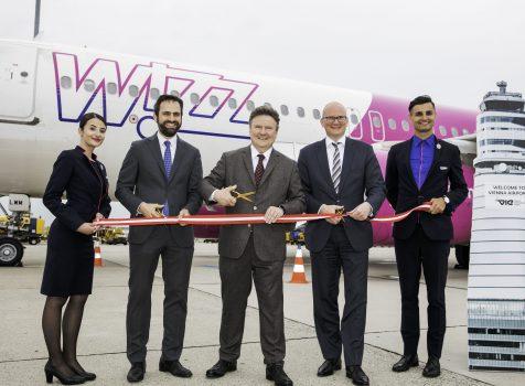 Wizz Air otwiera bazę w Wiedniu