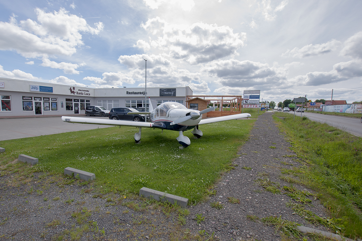Śladami pomników lotniczych, cześć 28 – Robin HR100 (Banino, Polska)