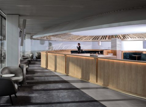 Nowa ekskluzywna poczekalnia biznesowa dla pasażerów Air France