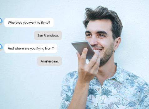 Powiedz, jakiego lotu szukasz! KLM wprowadza nową usługę dostępną poprzez Google Assistant – sterowane głosem wyszukiwanie lotów KLM