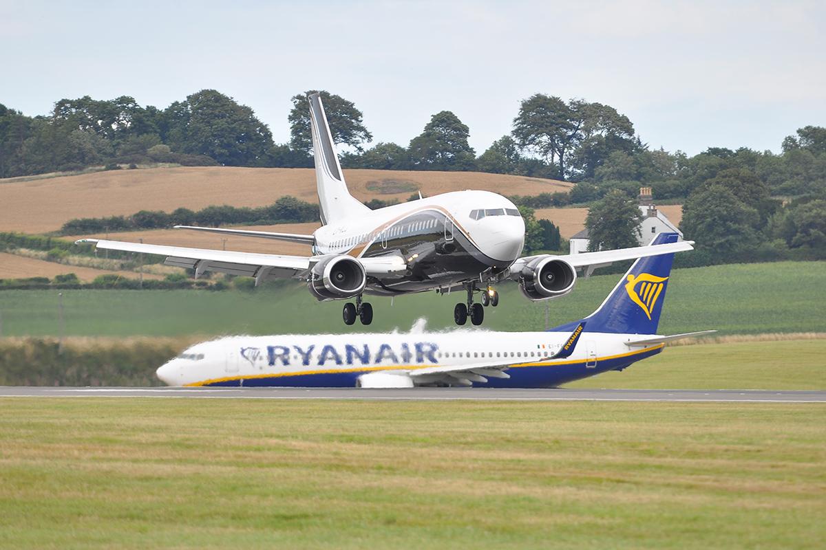 Krótka wizyta na lotnisku w Edynburgu – EDI
