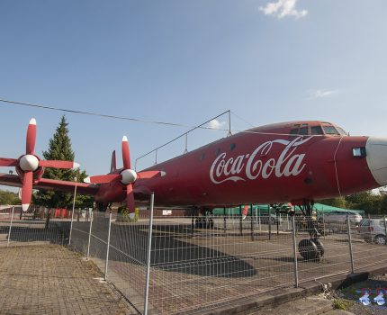 Śladami pomników lotniczych, część 38 – Iljuszyn Ił-18 (Strumień, Polska)