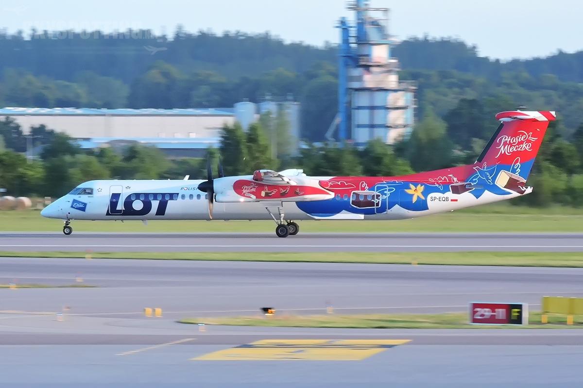 LOT rozszerza siatkę połączeń z portu lotniczego Olsztyn-Mazury