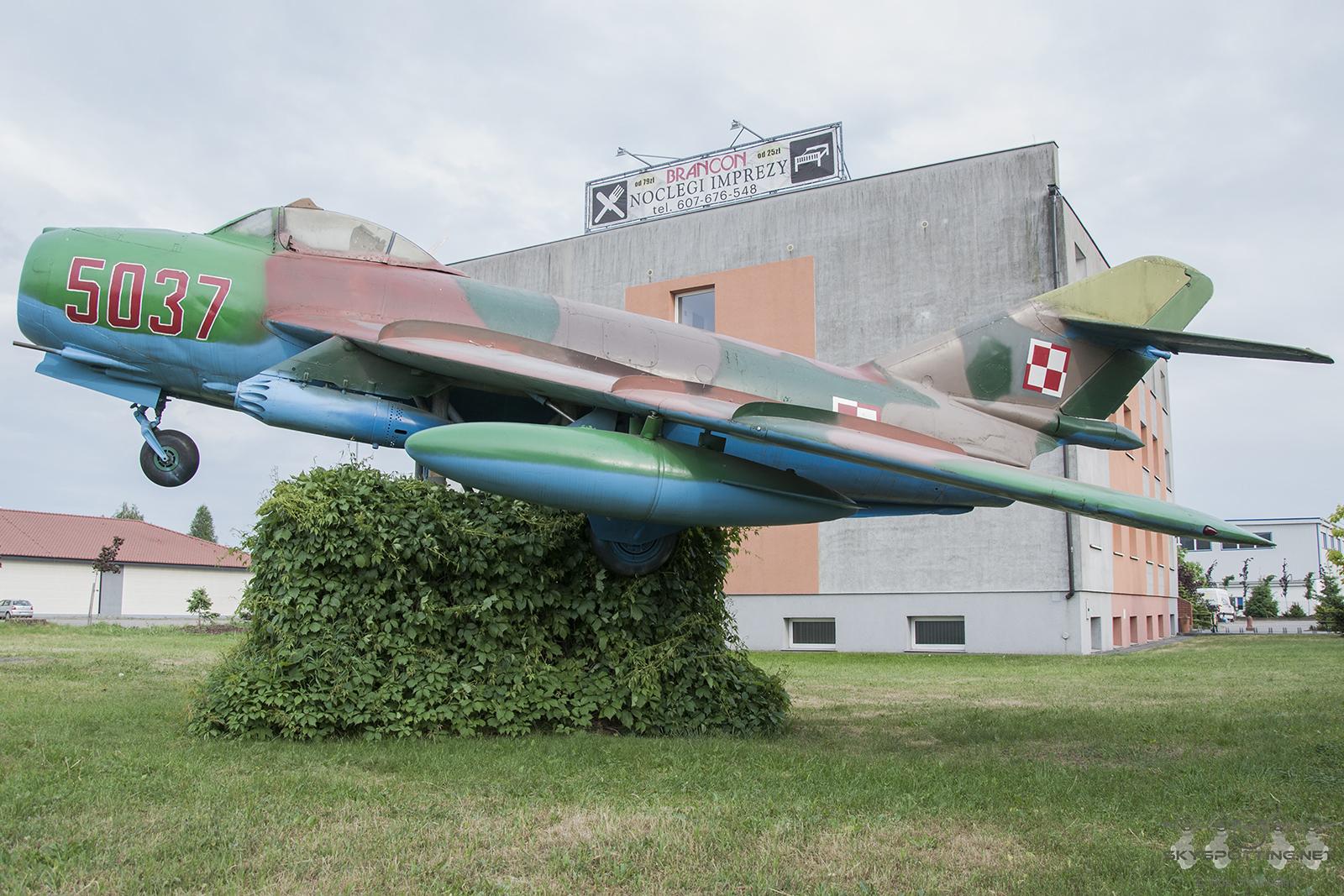 Śladami pomników lotniczych, część 42 – Lim-6bis (Babimost, Polska)