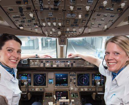 Dzień kobiet w Air France KLM