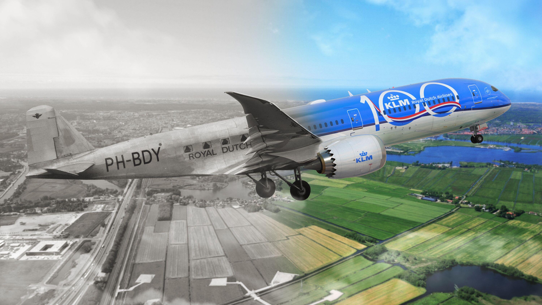 KLM rozpoczyna obchody 100.urodzin