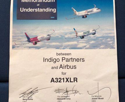 Wizz Air ogłasza zamówienie 20 samolotów Airbus A321XLR