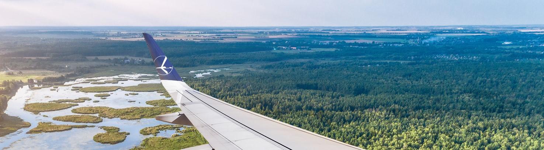 LOT umożliwia pasażerom kompensację CO2 w ramach programu DESTINATIONECO