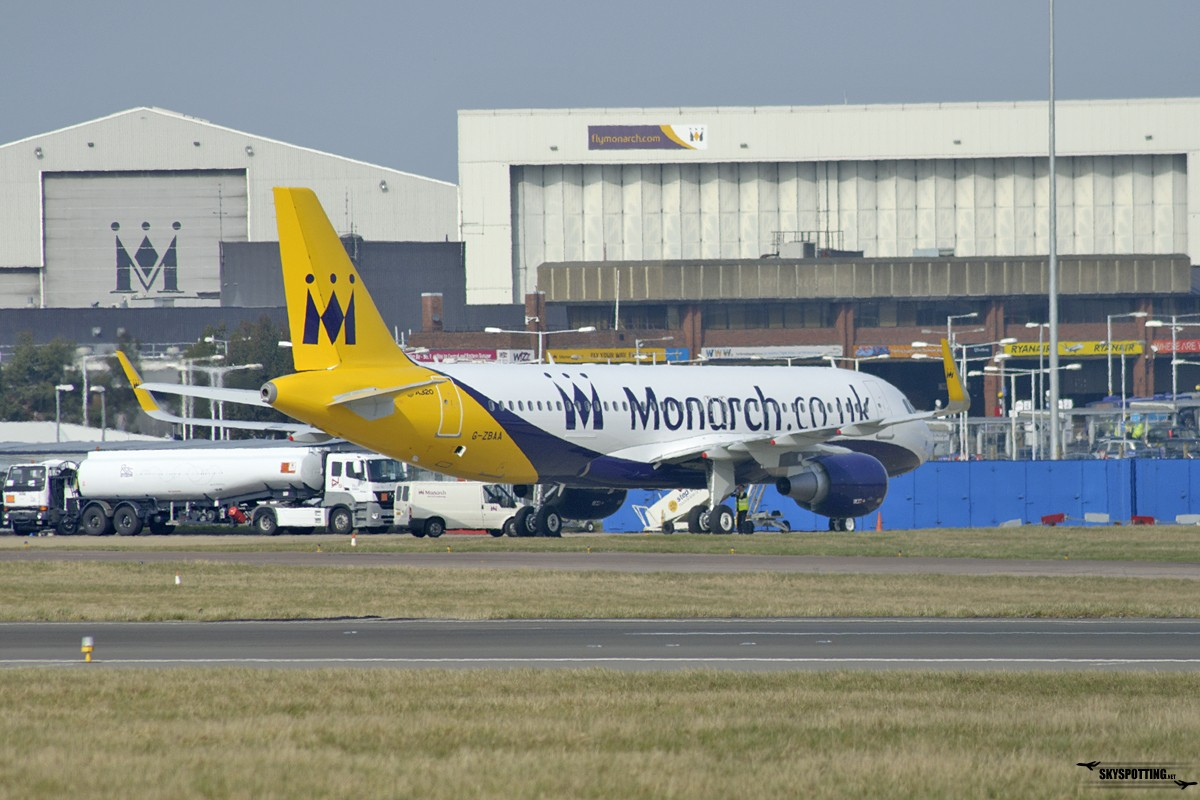 A320 CEO Monarch