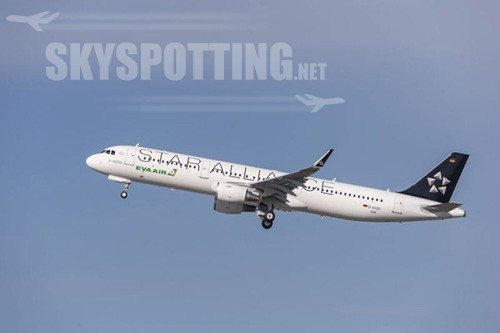 EVA Air odbiera A321 z Sharkletami