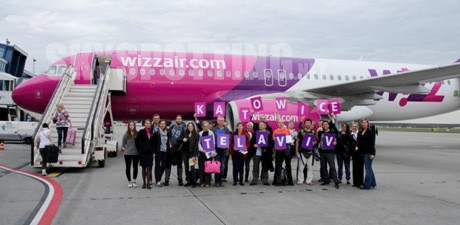 Wizz Air rozpoczyna loty z Katowic do Izraela