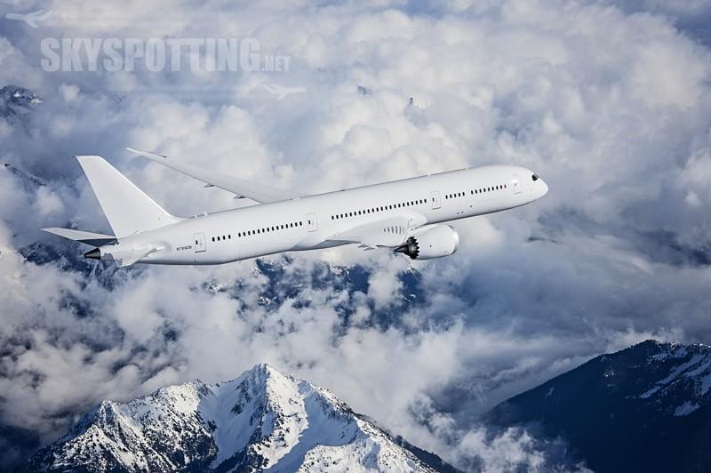 Oblot trzeciego Boeinga 787-9 Dreamliner