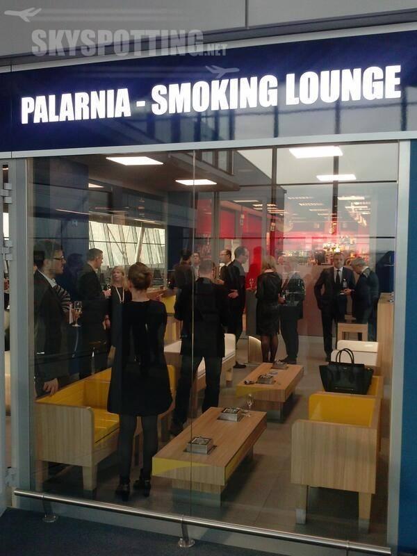 Nowy salon dla palących na Lotnisku Chopina