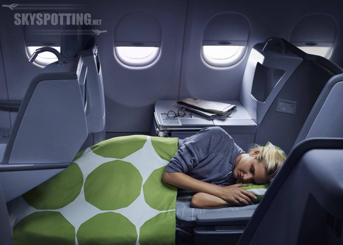 Finnair wprowadza fotele z funkcją full-flat na 9 trasach międzykontynentalnych