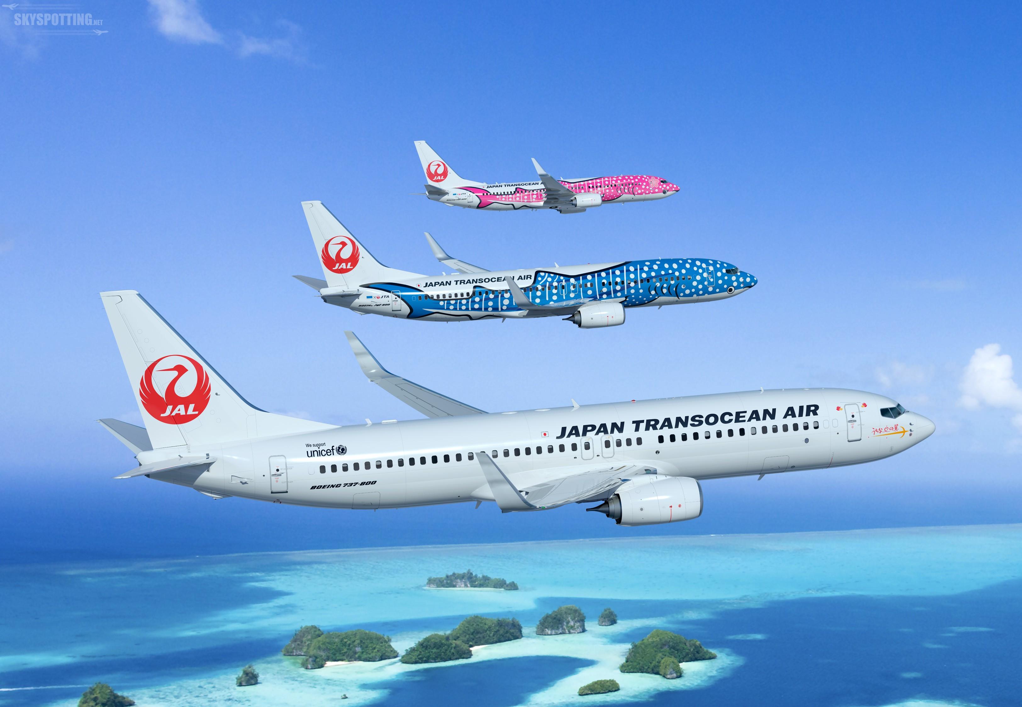 Boeing i Japan Transocean Air informują o zamówieniu 12 samolotów 737 Next-Generation