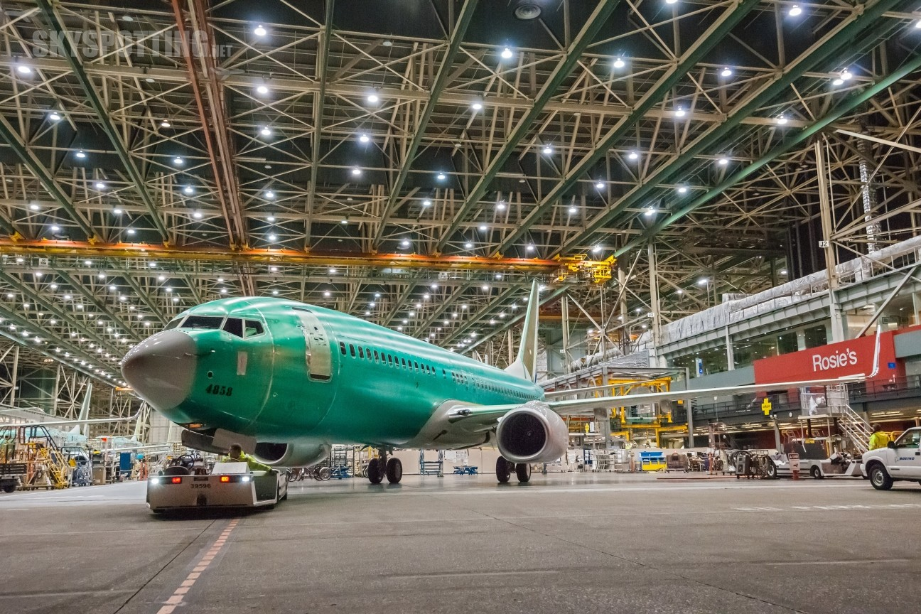 Pierwszy Boeing 737 Next-Generation w zwiększonym tempie produkcji