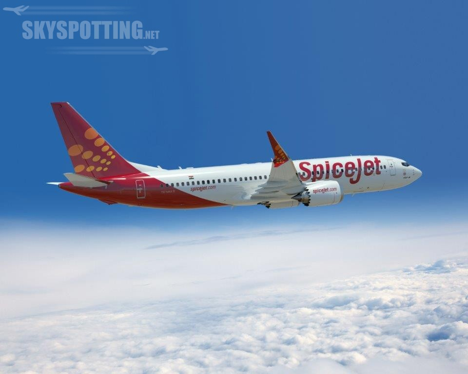 Boeing i linie lotnicze SpiceJet informują o zamówieniu 42 samolotów 737 MAX 8