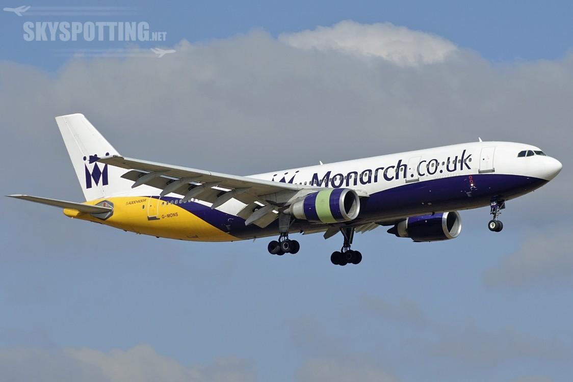 A300 Monarch: Ostatni komercyjny lot tej maszyny