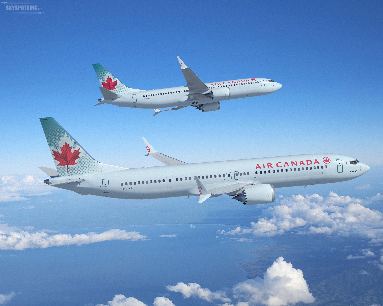 Linie lotnicze Air Canada finalizują zamówienie na 61 samolotów 737 MAX