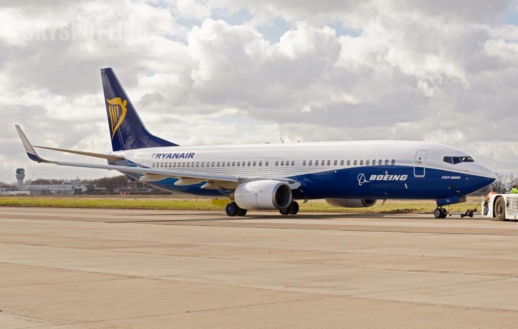 Silna współpraca Boeinga i Ryanair