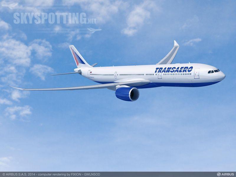 Transaero Airlines zamawia 20 samolotów Airbus A330