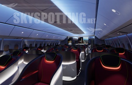 Boeing prezentuje najważniejsze rozwiązania mające wpływ na komfort pasażerów w modelu 777X