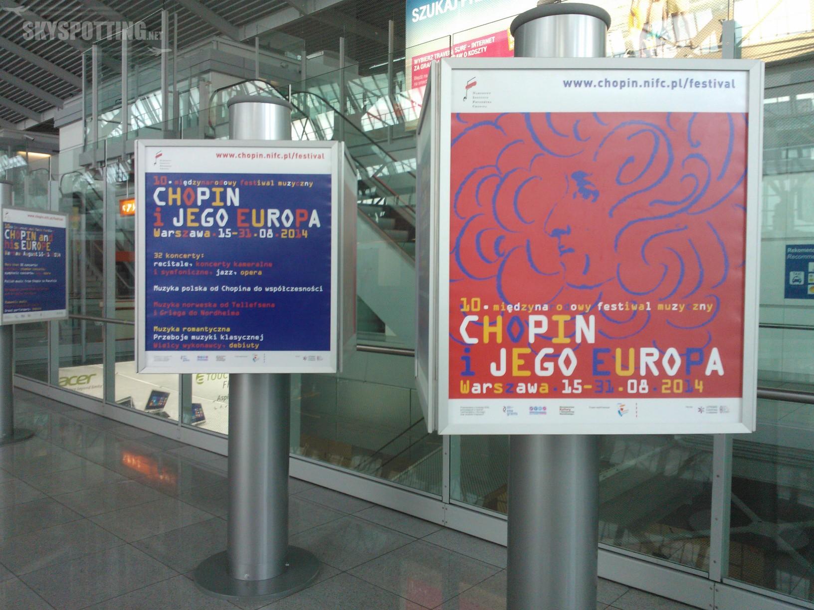 "Lotnisko Chopina partnerem festiwalu ""Chopin i jego Europa"""