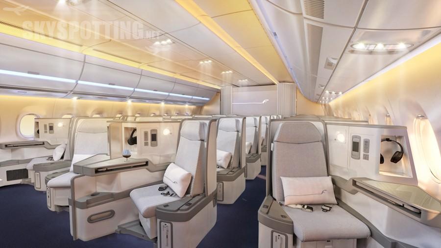 Finnair prezentuje projekt wyposażenia kabiny w samolotach najnowszej generacji Airbus A350 XWB