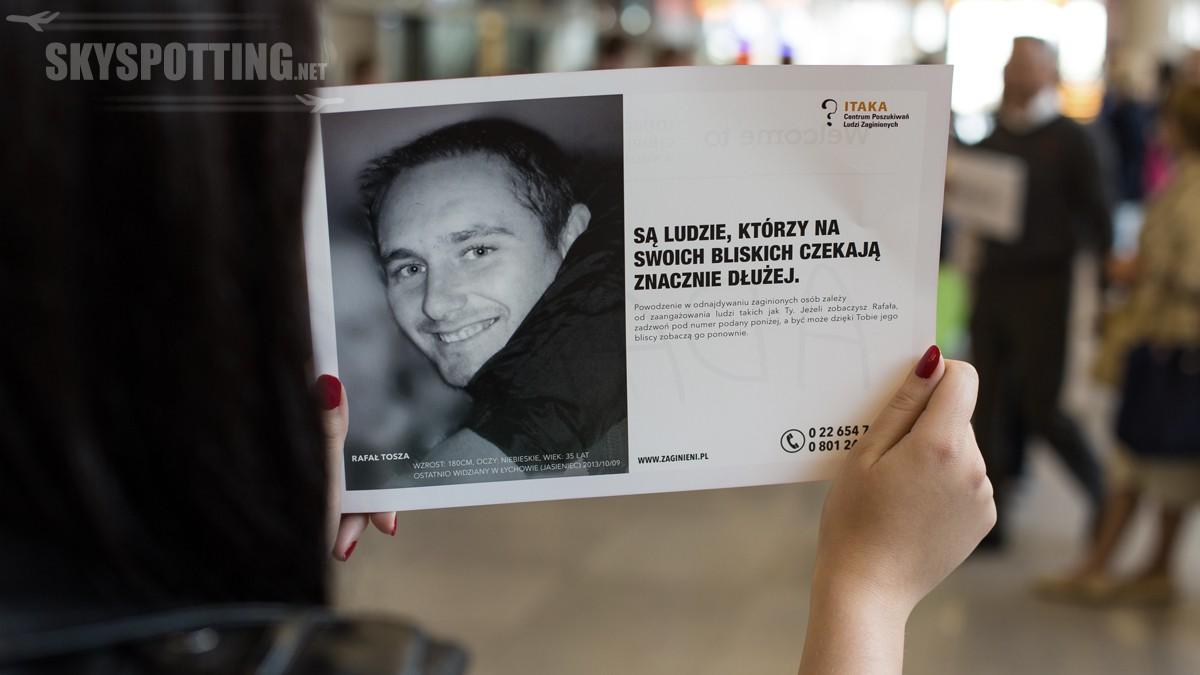 Pomóż odnaleźć zaginionych – wspólna akcja informacyjna Fundacji ITAKA i Lotniska Chopina