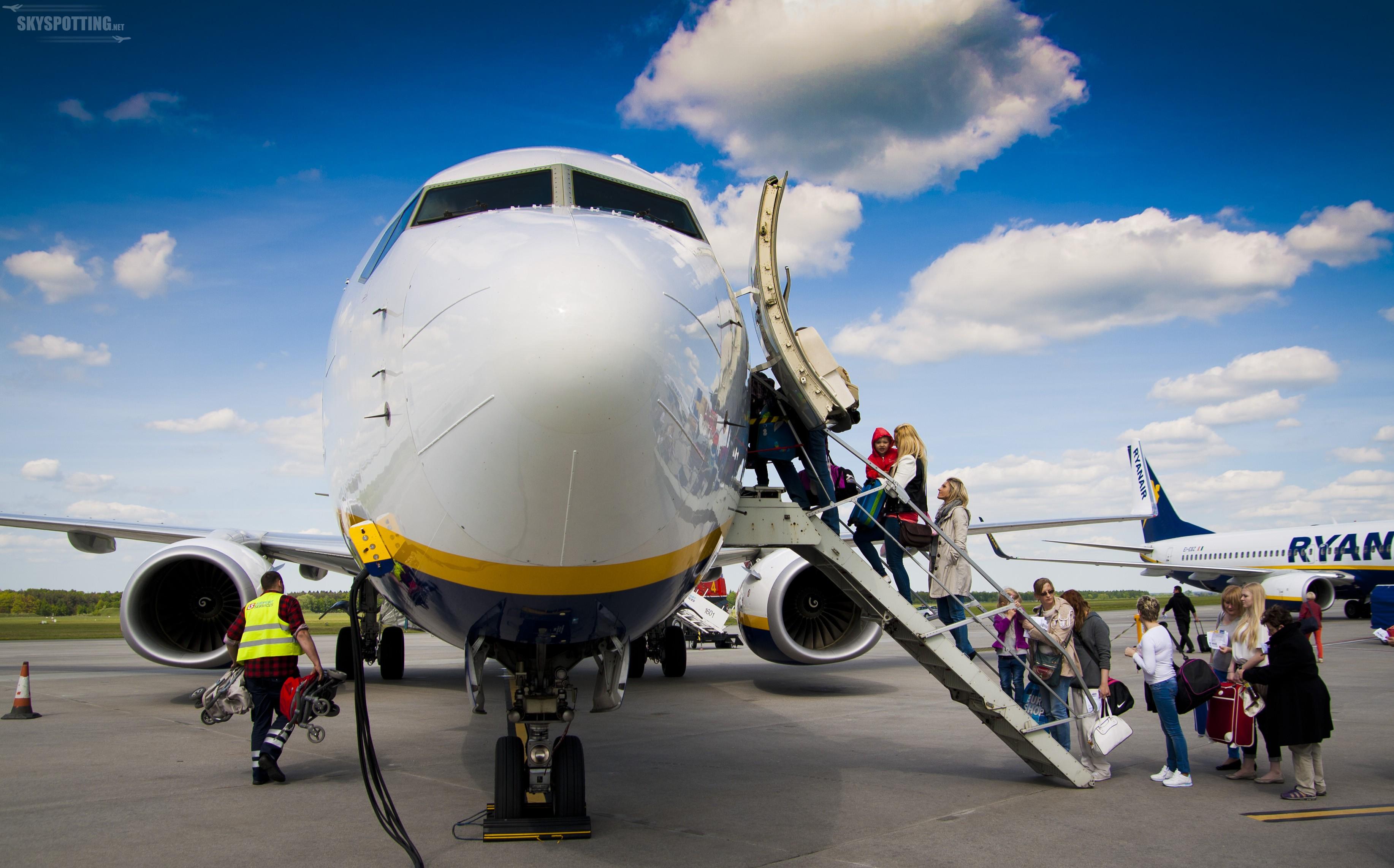 Warszawa/Modlin: Prawie 150 tys. pasażerów w sierpniu