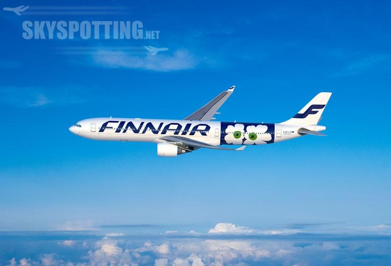 Finnair w nowych jubileuszowych barwach Marimekko