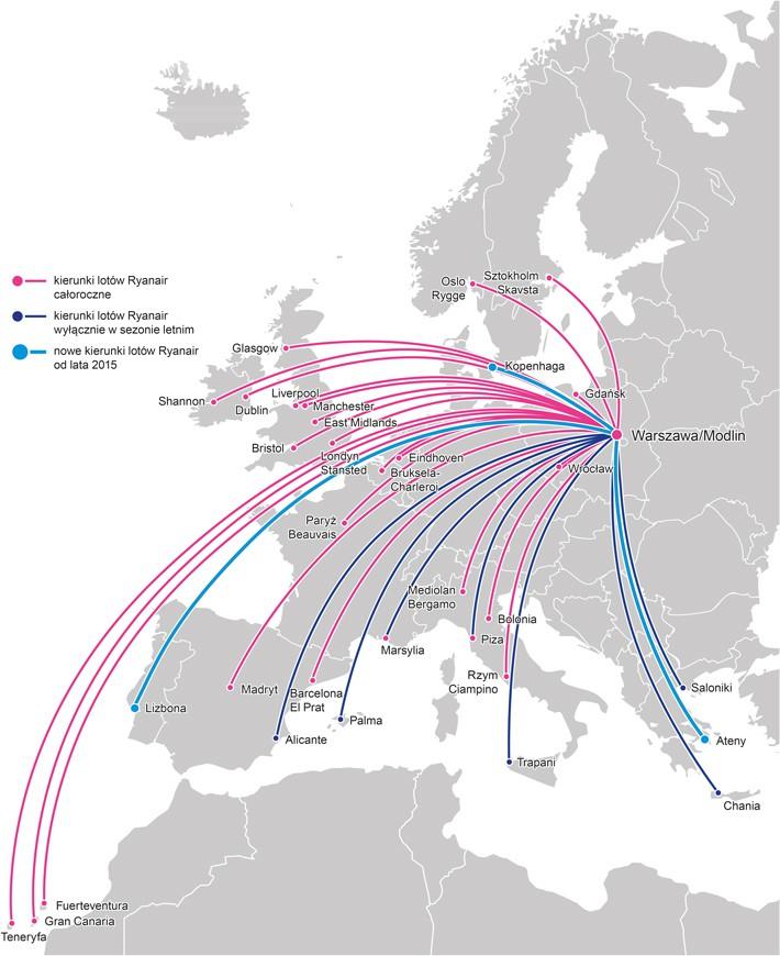 0,5 mln pasażerów w pierwszym kwartale 2015 r.