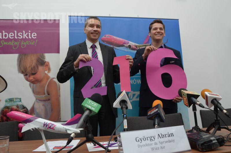 Wizz Air otwiera 21 bazę operacyjną  w Polsce