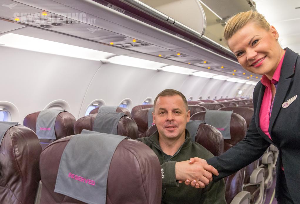 Wizz Air wita pierwszego pasażera z przydzielonym miejscem na pokładzie