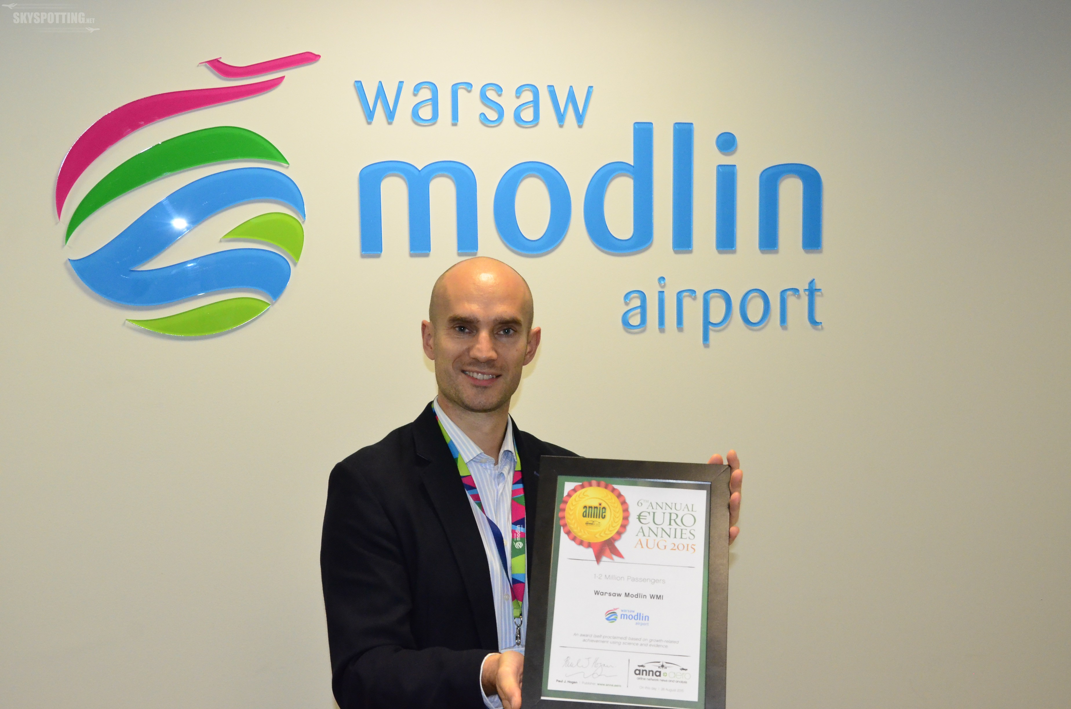 Lotnisko Warszawa/Modlin: Największa dynamika w Europie!