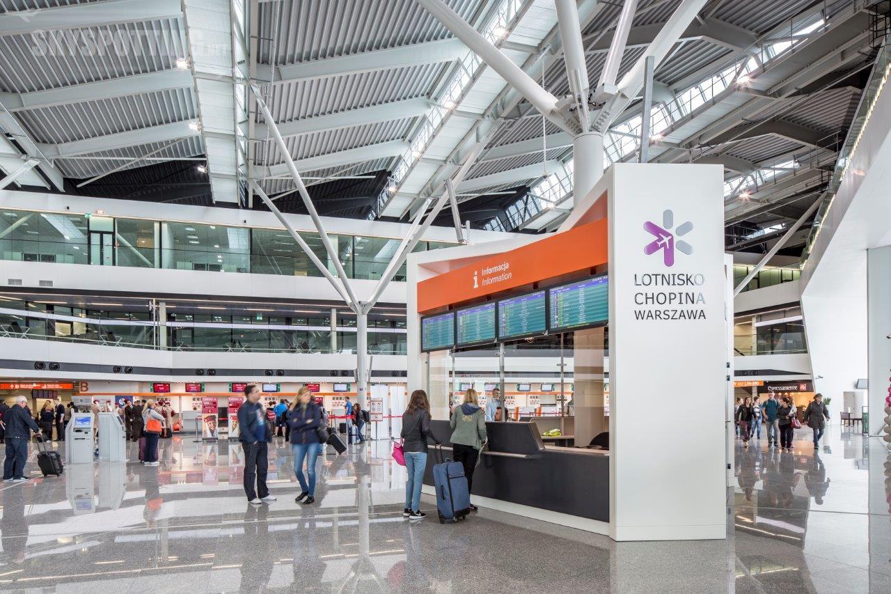 Top 10 – najpopularniejsze kierunki lotów na Lotnisku Chopina w sierpniu
