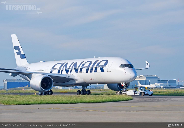 Finnair pierwszą europejską linią lotniczą z Airbusem A350 XWB