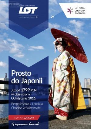 Nie ma prostszego sposobu na podróż do Japonii! LOT promuje nowe połączenie do Tokio.